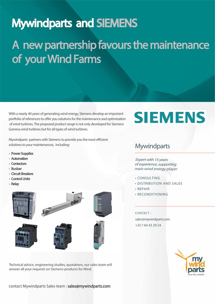 Brochure Mywindparts Siemens