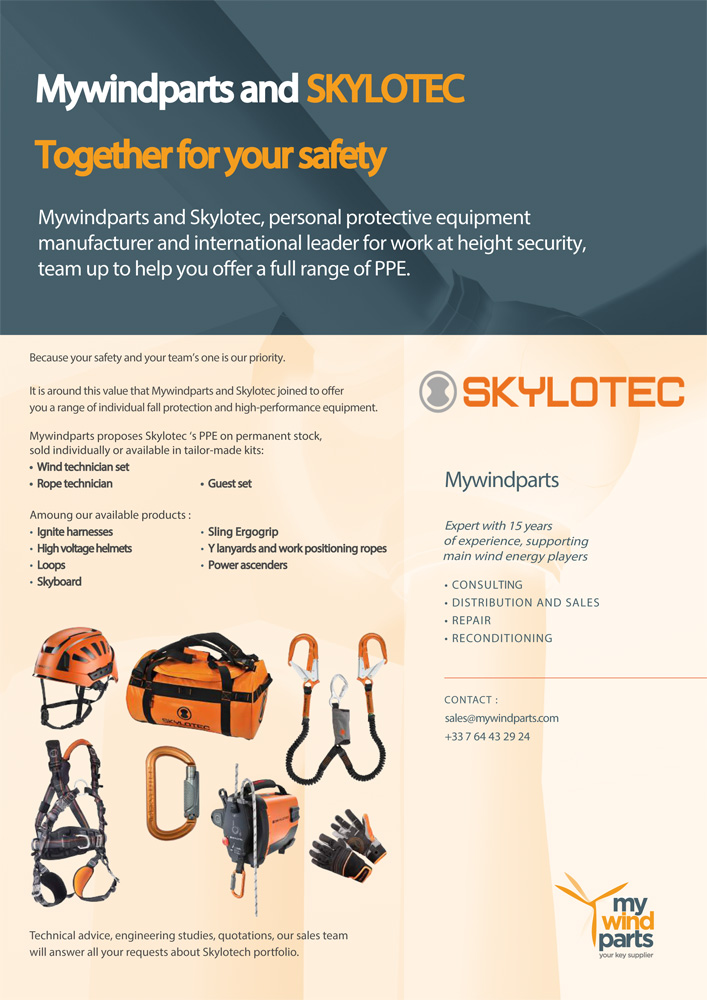 Brochure Mywindparts Skylotec